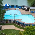 Outdoor Pool located at the Sheraton Westport Chalet Hotel