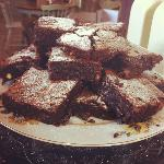 triple chocolate gooey brownies