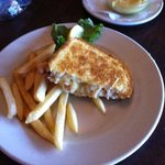 crab melt sandwich