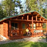 Our cabin in the woods!