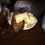 Huge and delicious baby back ribs - mesquite smoked!