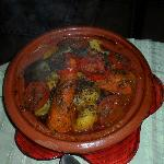  le tajine au legumes de Fatima