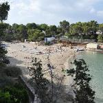 beach close to cala gracio hotel