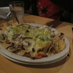 Nachos with pulled beef