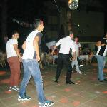 The boys dancing! - every night they are fab!