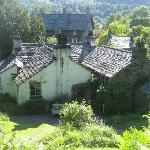 Views from Dove Cottage Gardens, Grasmere, Cumbria