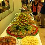 the 'ferragosto' buffet at hotel stella..great ...these are only sweets ;)..