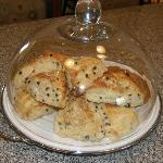 Currant & Cream Scones