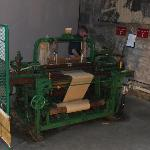 A loom at work