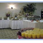 Complimentary Full Hot Breakfast Buffet Daily