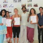 Certification on Completing Yoga TTC
