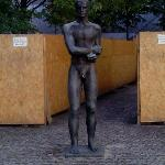 Statue to commemorate Stauffenberg and other noble people who resisted dogma