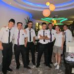  Staff in restaurant