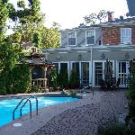  The lovely pool are and the main house