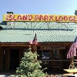 Front of restaurant-Island Park ID