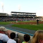 The Tides take on the Durham Bulls