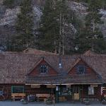 Lodge and restaurant