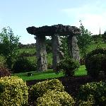  Dolmen in beautifully landscaped garden