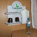  Tea and coffee making facilities-bottled water included