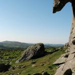 A view from Hay Tor on Dartmoor.