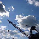 A crane used for ship repair at the Brooklyn Navy Yard - Credit: Kristin Brenneman Eno