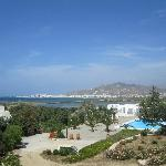 Myrtle Villa - View of Grounds & Naxos Town