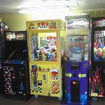 Arcade Machines in Concessions area
