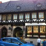  Vorderseite Hotel zum zentralen Maktplatz