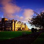 The Gleneagles Hotel, Perthshire, set in 850 acres of beautiful Scottish countryside.