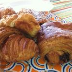 Pastries from Bon Apetit