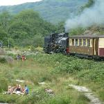 trains at porthmadog