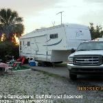 Fort Pickens Campground resmi