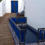 decking area and plunge pool sultan