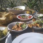Great Mezze Selection 3 dishes for £12 !!