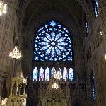  Basilica of the Sacred Heart rose window