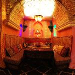 All rooms are different and very beautiful, very comfortable sofas. Many Moroccan decor