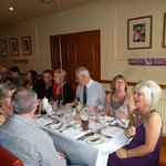 a lovely 50th birthday meal at ducks