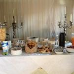  buffet colazioni all&#39;aperto