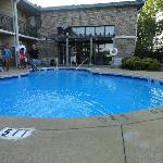 The nice small pool