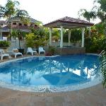 Delightful pool area - with plenty of lounges for everyone