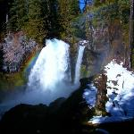  Sahalie Falls in winter
