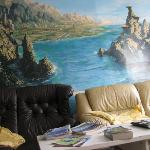 Mural in the lounge