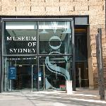 Entrance to the Museum of Sydney