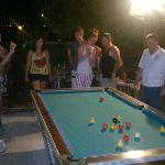 Everybody enjoyed 'killer pool'