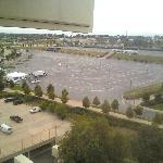  View from room (Sports Authority Field parking lot)