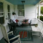 Vermont Grand View Farm Porch