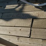  broken sun deck