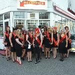  My Hen Party in front of the Hotel - Taken by a v friendly member of the hotel team