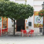 Cili Cafe, Komarno from outside