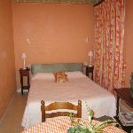 Double room with additional single bed